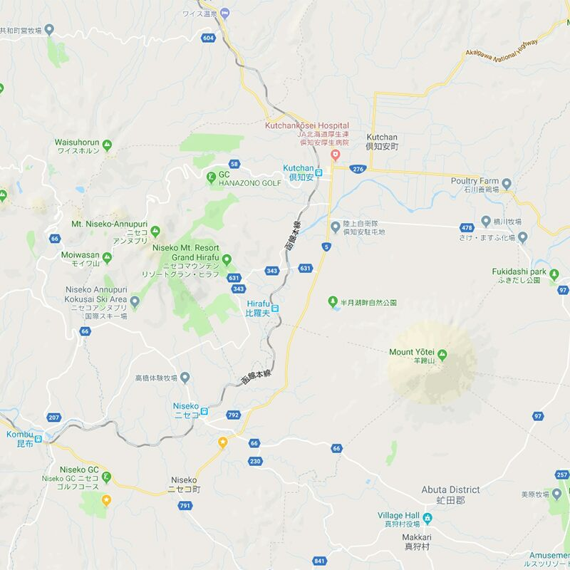 Mapping it out: Explaining Niseko's Different Areas