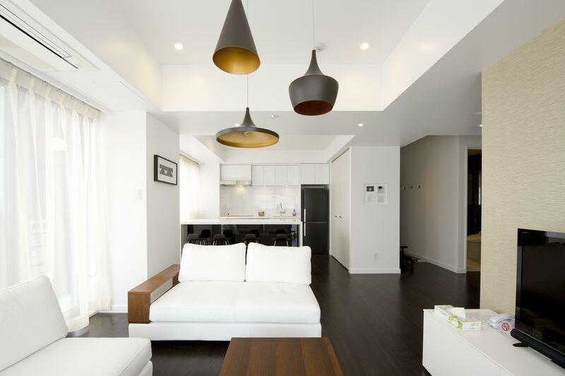 Kizuna 2-Bedroom Deluxe Apartment - Living Room