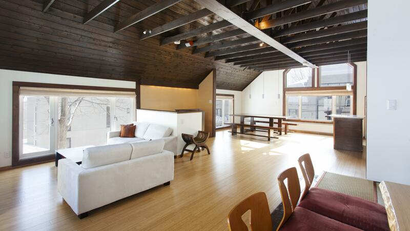 Ginsetsu - Living Room and Dining Room