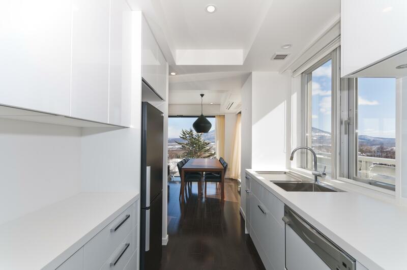 Kizuna 3-Bedroom Penthouse Apartment 601 - Kitchen