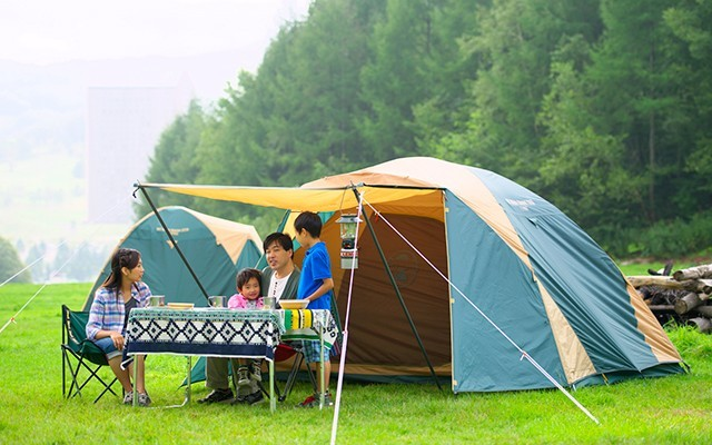 hokkaido has perfect conditions for camping