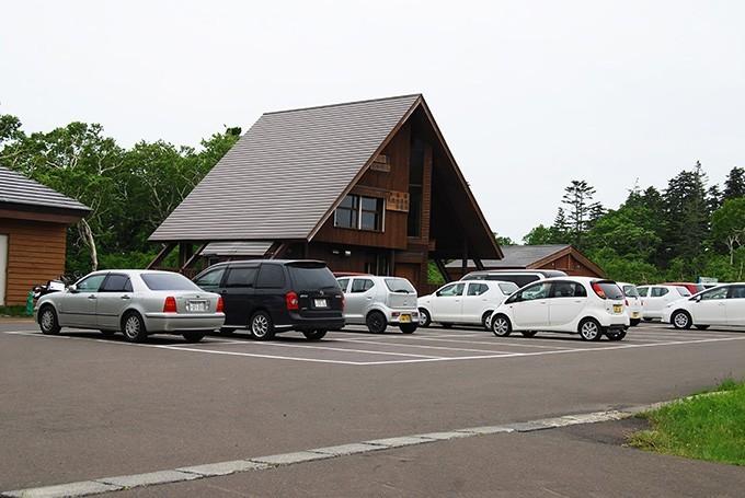 神仙沼入り口のレストハウス