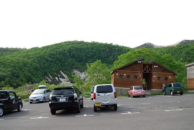 五色温泉駐車場