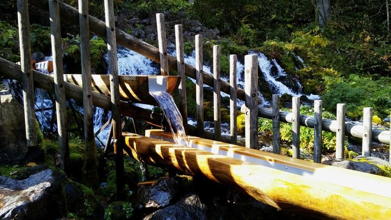 Fukidashi spring water