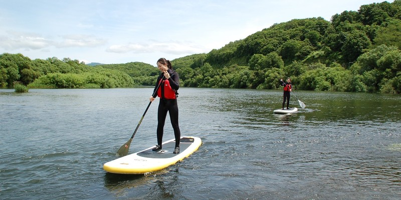 Lake Toya Stand Up Paddle Boarding SUP