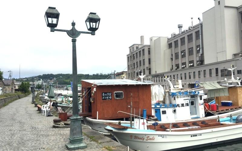 小樽運河の船