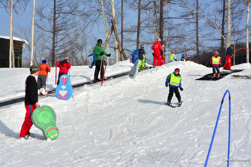 Niss ski school family