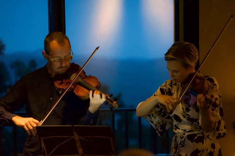ニセコMUSEでのバイオリンコンサート
