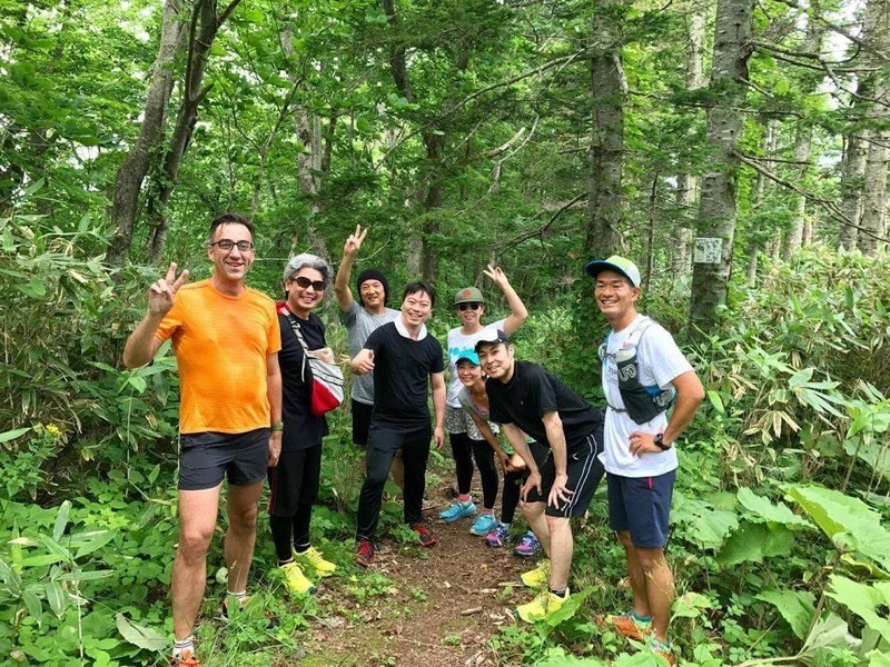 SO Camp in Niseko2017 - Trailrunning