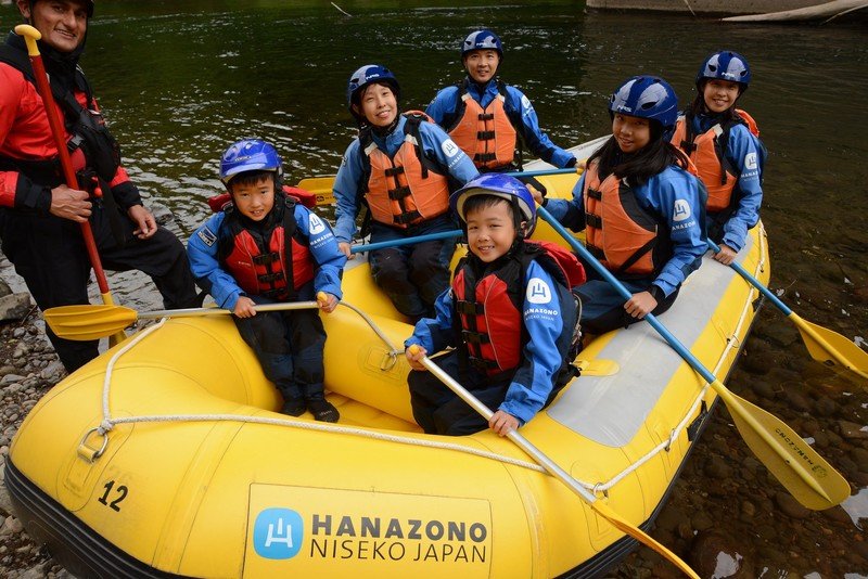rafting niseko