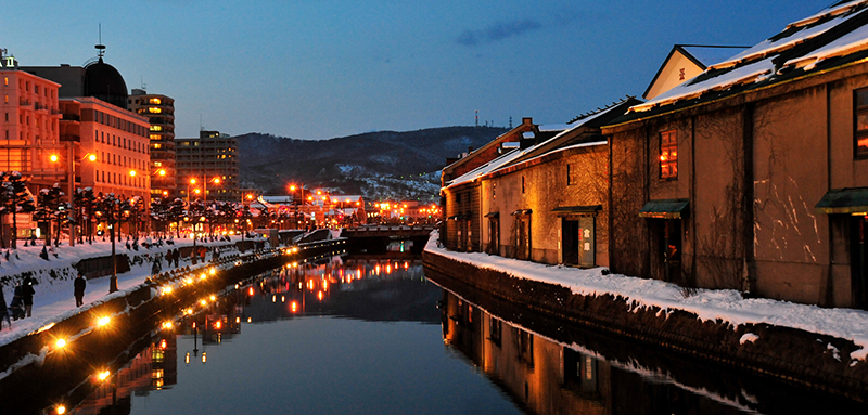 Otaru in winter