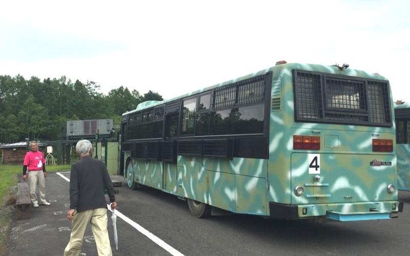 ベアマウンテンのバス