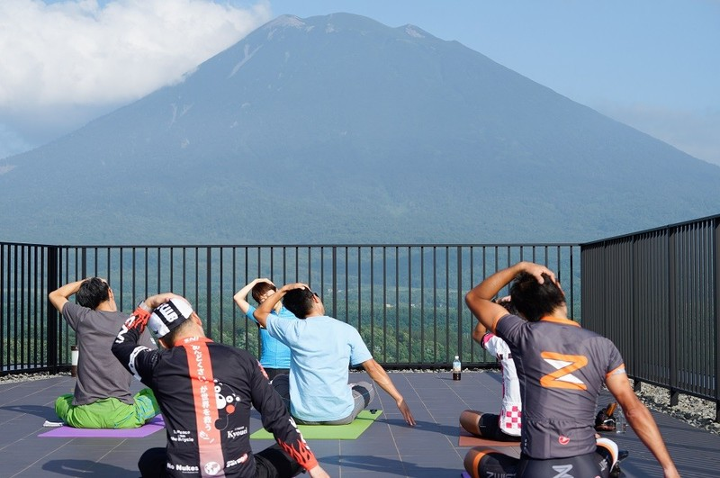 Hanazono Hill Climb Yoga Session
