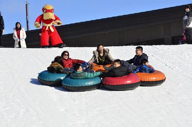 Hanazono Snow Tubing