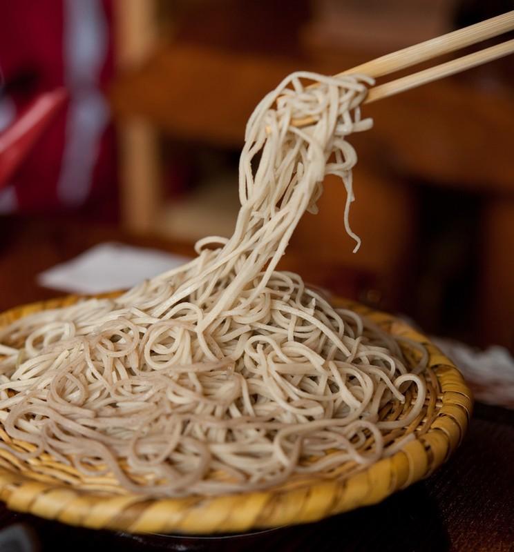 Morisoba noodles
