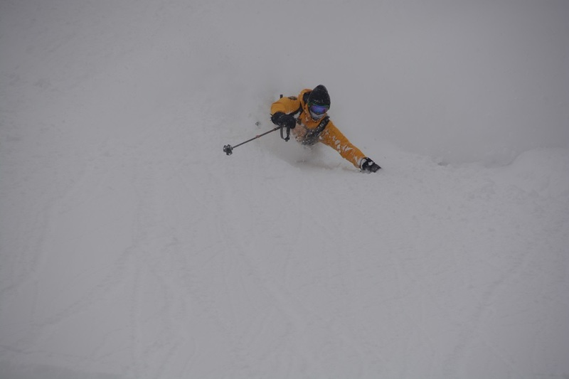 Powder snow Niseko