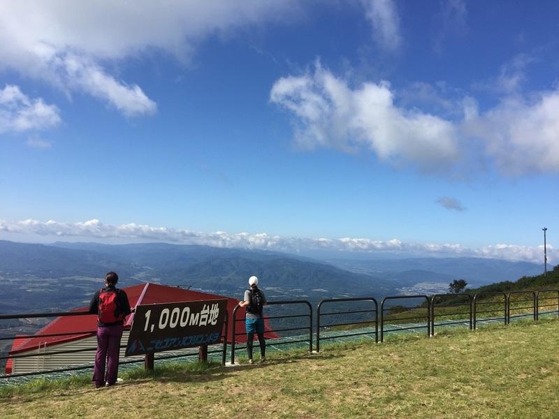 ニセコアンヌプリの1000m台地