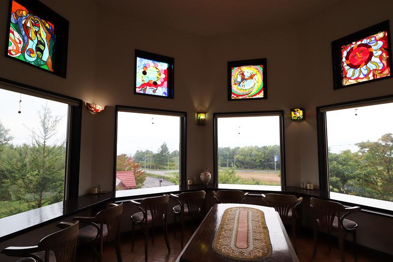 クレイルのステンドグラスの展望室