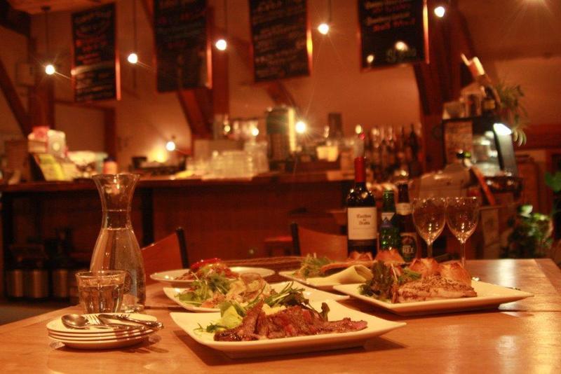 ニセコのJoJo's Cafeのディナー