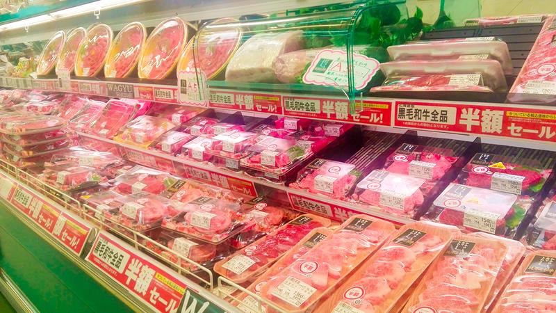 ラッキー倶知安店お肉売り場