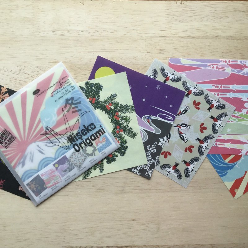 Niseko Origamiのオリジナル折り紙セット