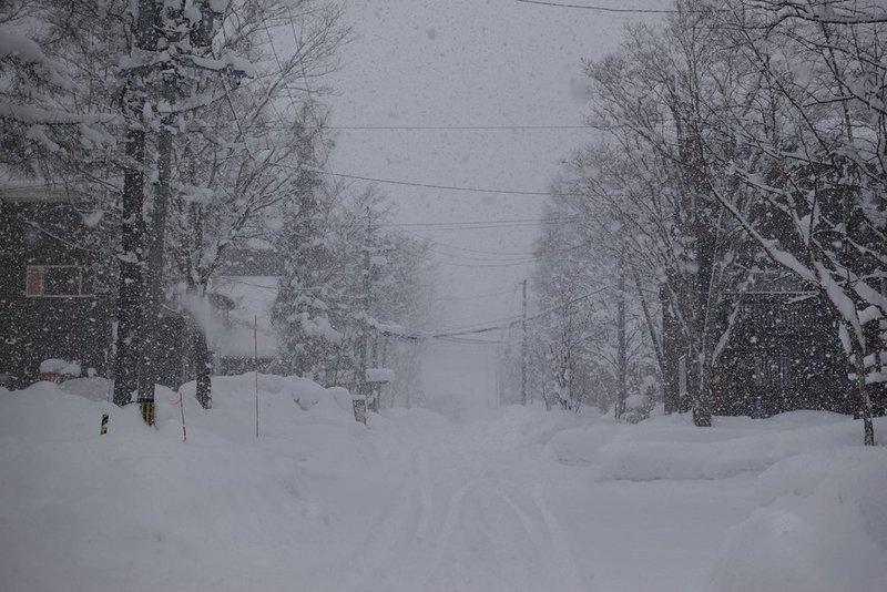 2018年ニセコの降雪状況