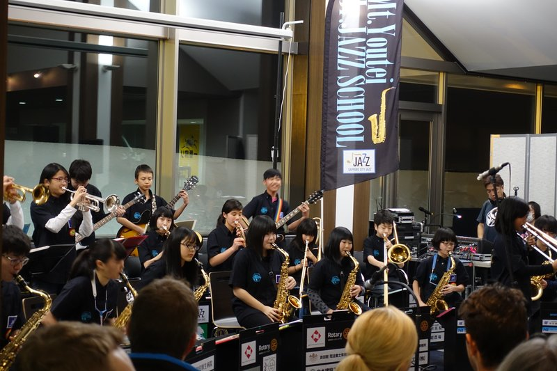 mt yotei junior jazz school performing