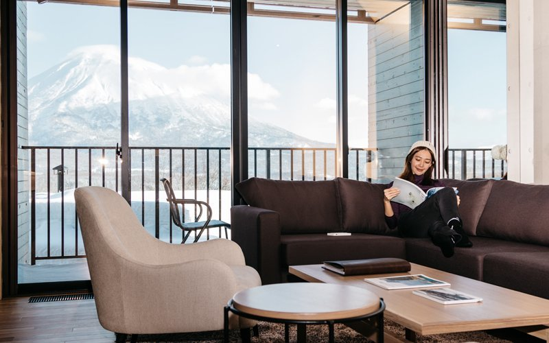 discounts on luxury accommodation such as aspect niseko