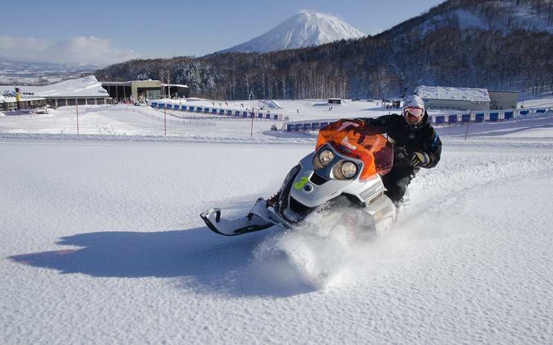 hanazono snowmobile tours are fun for the whole family