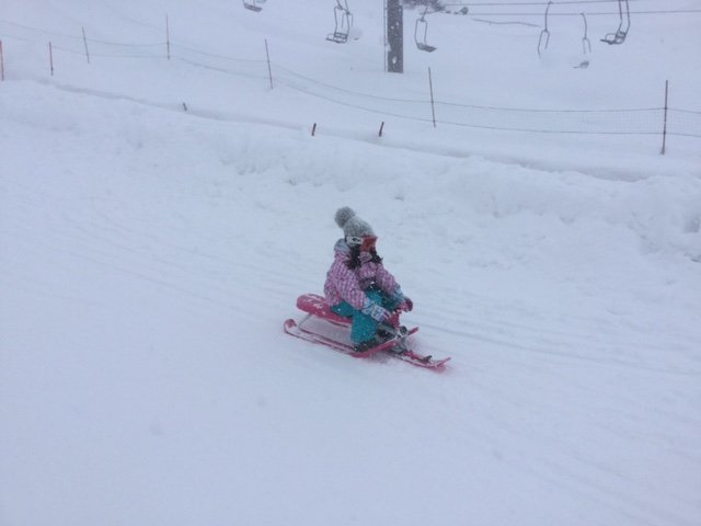 niseko grand hirafu kids park fun sledding