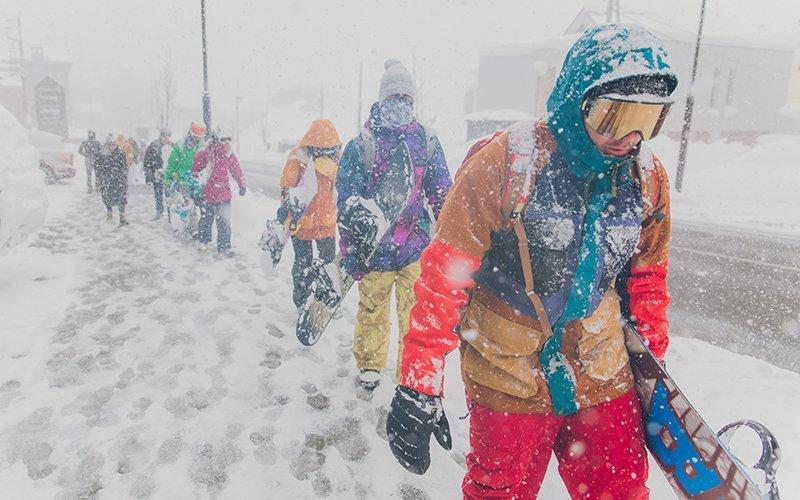 北海道滑雪自由行新雪谷二世古