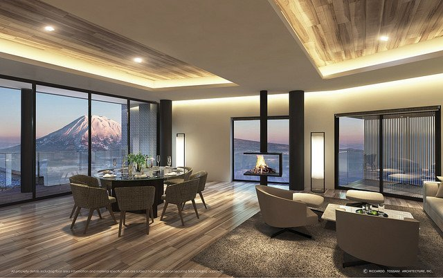 tellus niseko living room