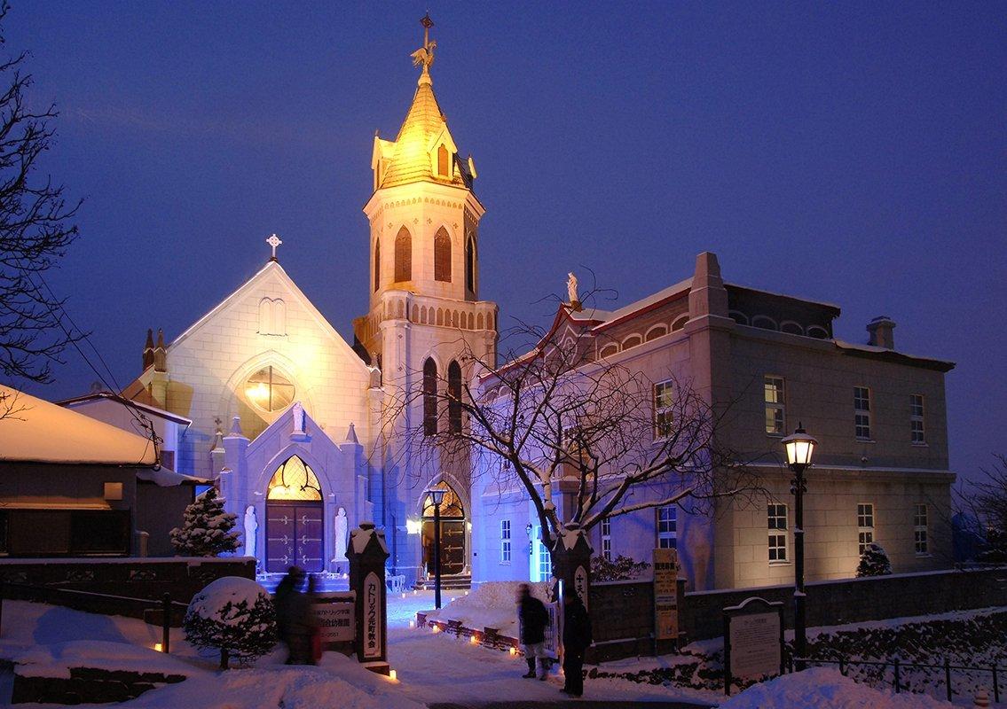 函館の元町カトリック教会
