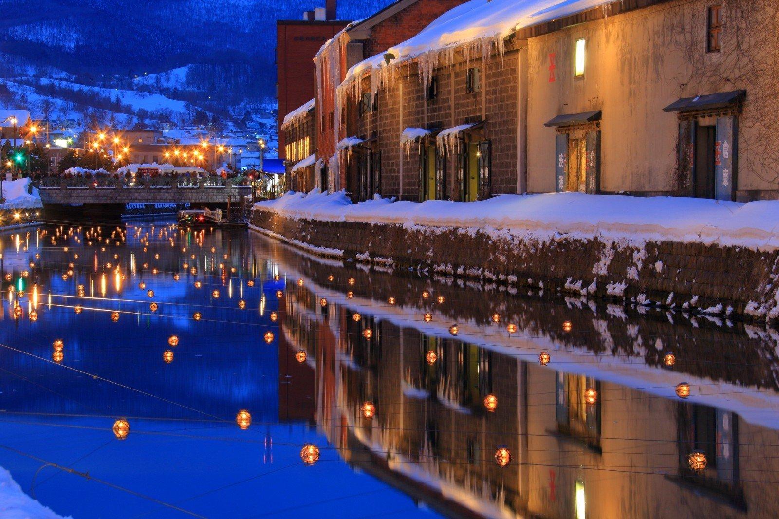 otaru lantern winter festival