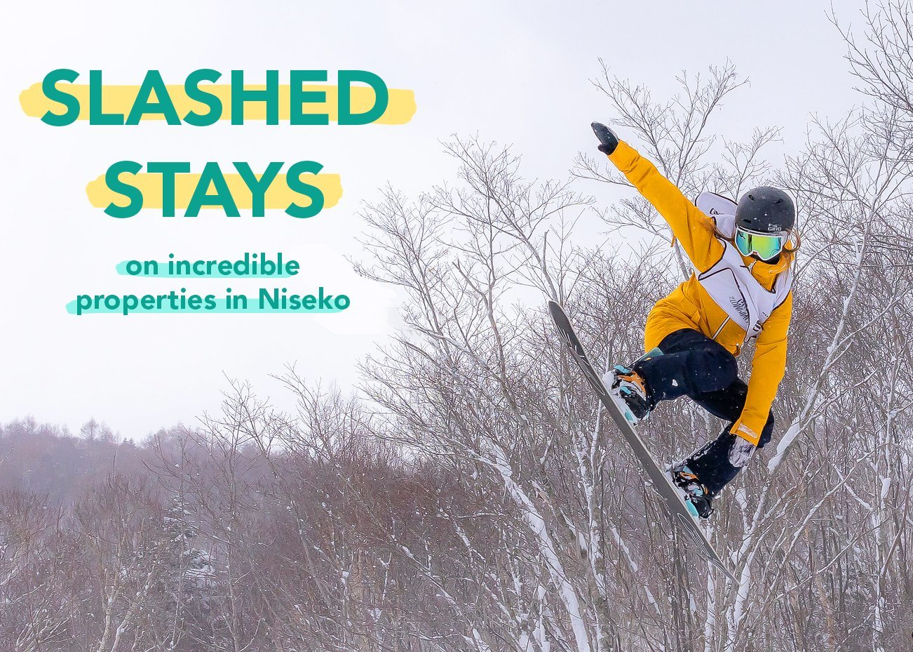 slashed stays in incredible niseko properties with vacation niseko.