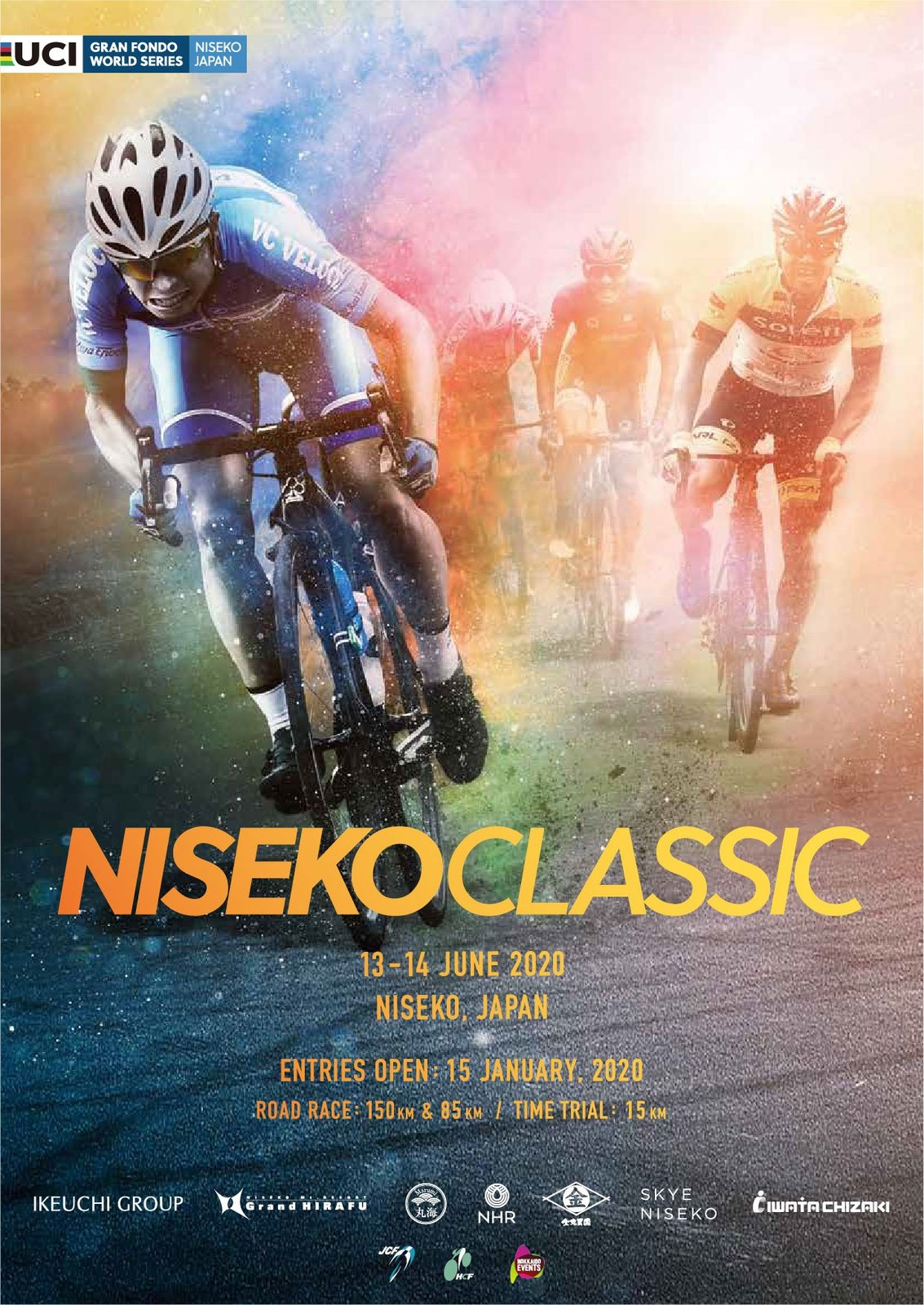 niseko classic 2020 poster bicycle race