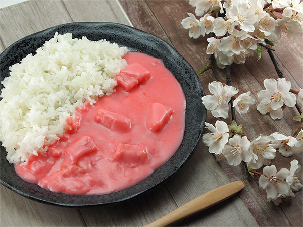 pink curry 2020 cherry blossom sakura snacks japan
