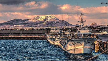 ocean fishing tour niseko hokkaido japan