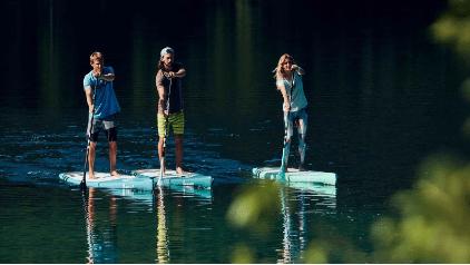SUP Hana pond