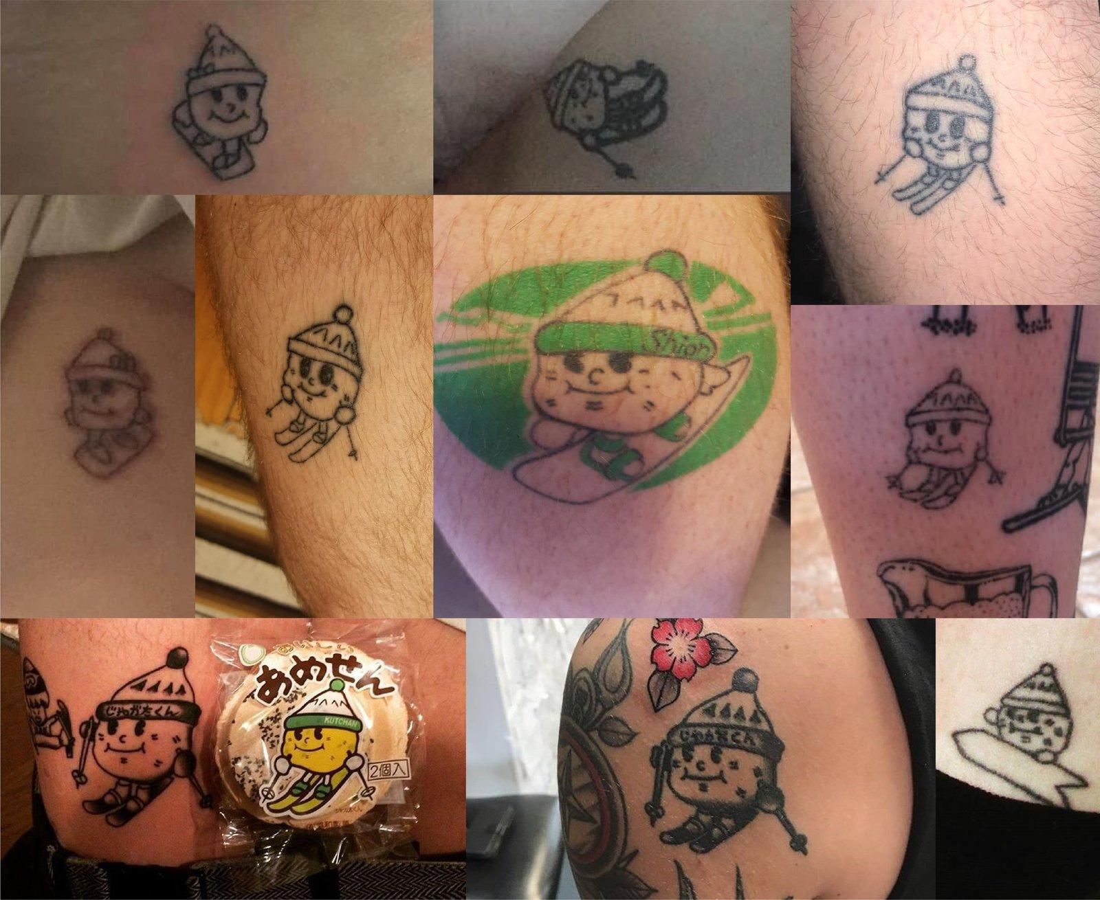 tattoos of jagata kun from niseko seasonal workers