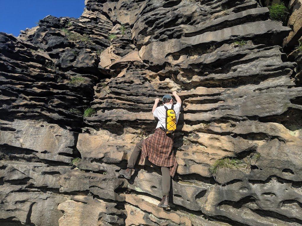 rock climbing esan hokkaido