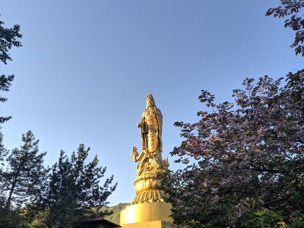 buddhist statue esan hokkaido