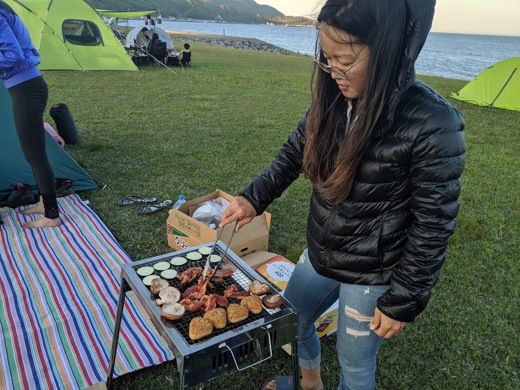 barbecue bbw camping esan hokkaido