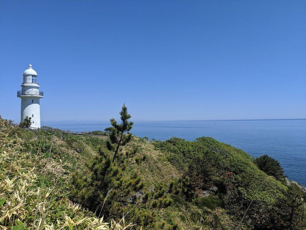 cape esan lighthouse hokkaido
