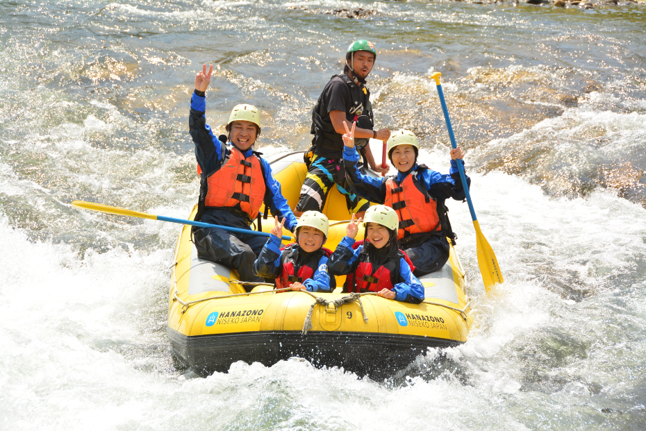 rafting accommodation package niseko