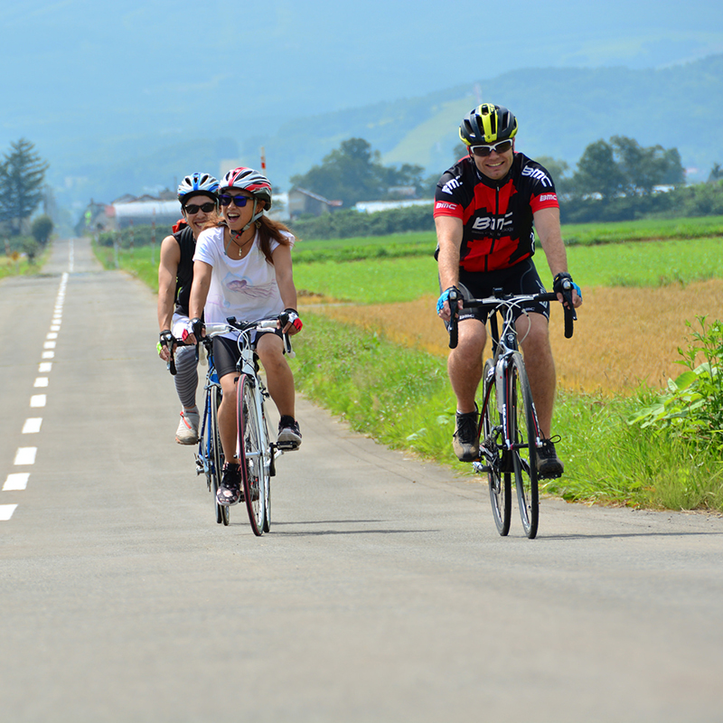 niseko road cycling bike