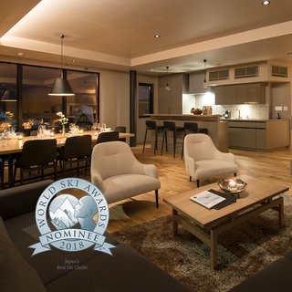 Aspect is nominated as Japan's Best Ski Chalet 2018