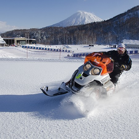 Snowmobile niseko 1