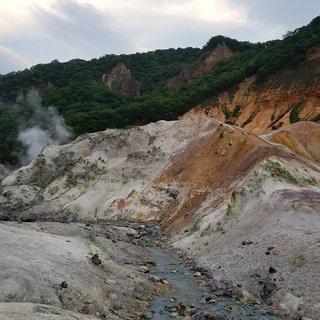 Hokkaido road trip hell valley small