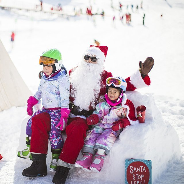 Santa at HANAZONO Niseko